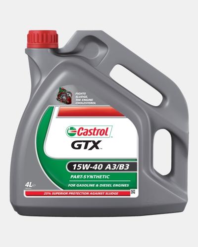Castrol GTX 15W-40 A3/B3 Thumb